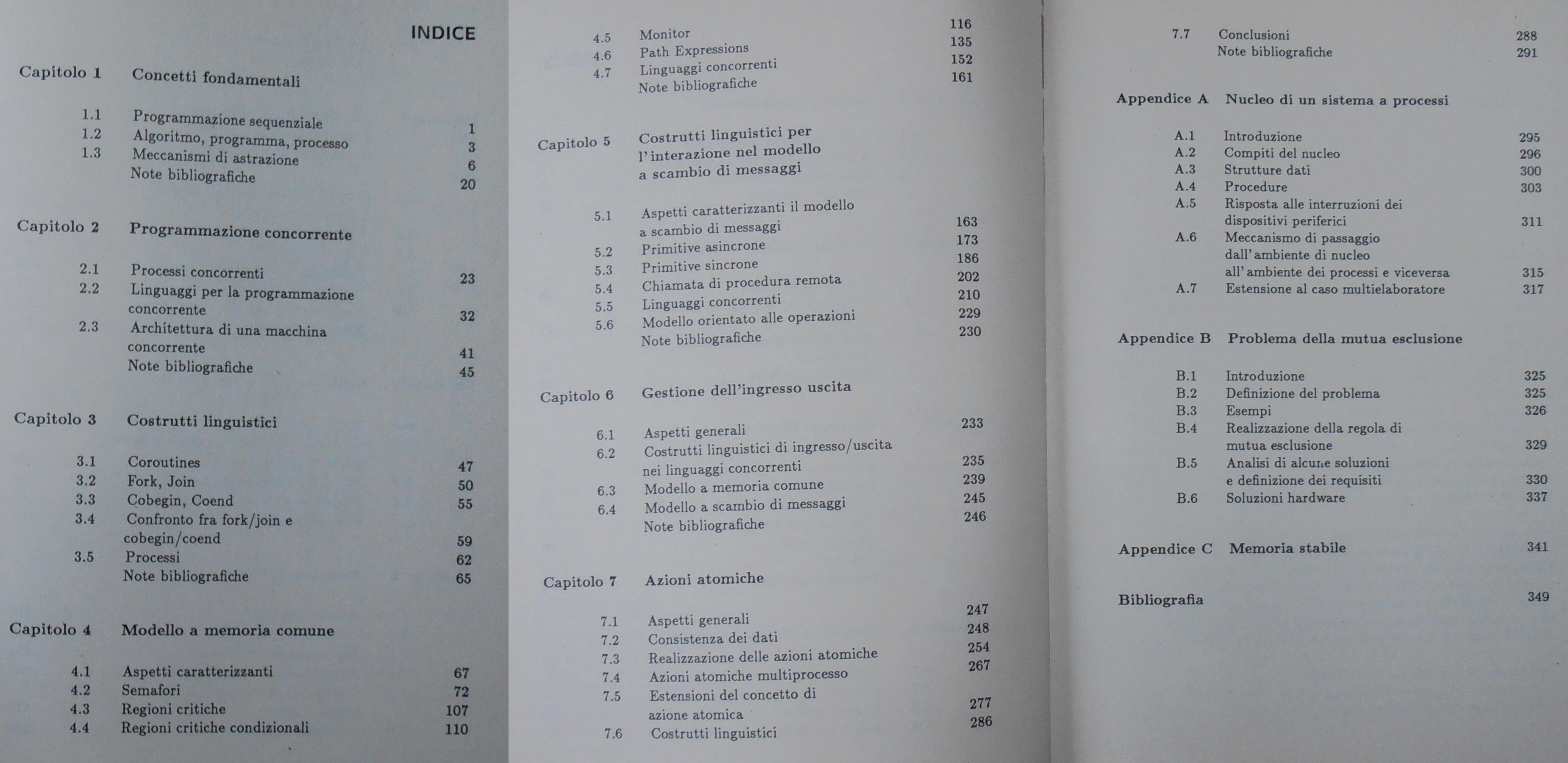Principi e tecniche di programmazione concorrente