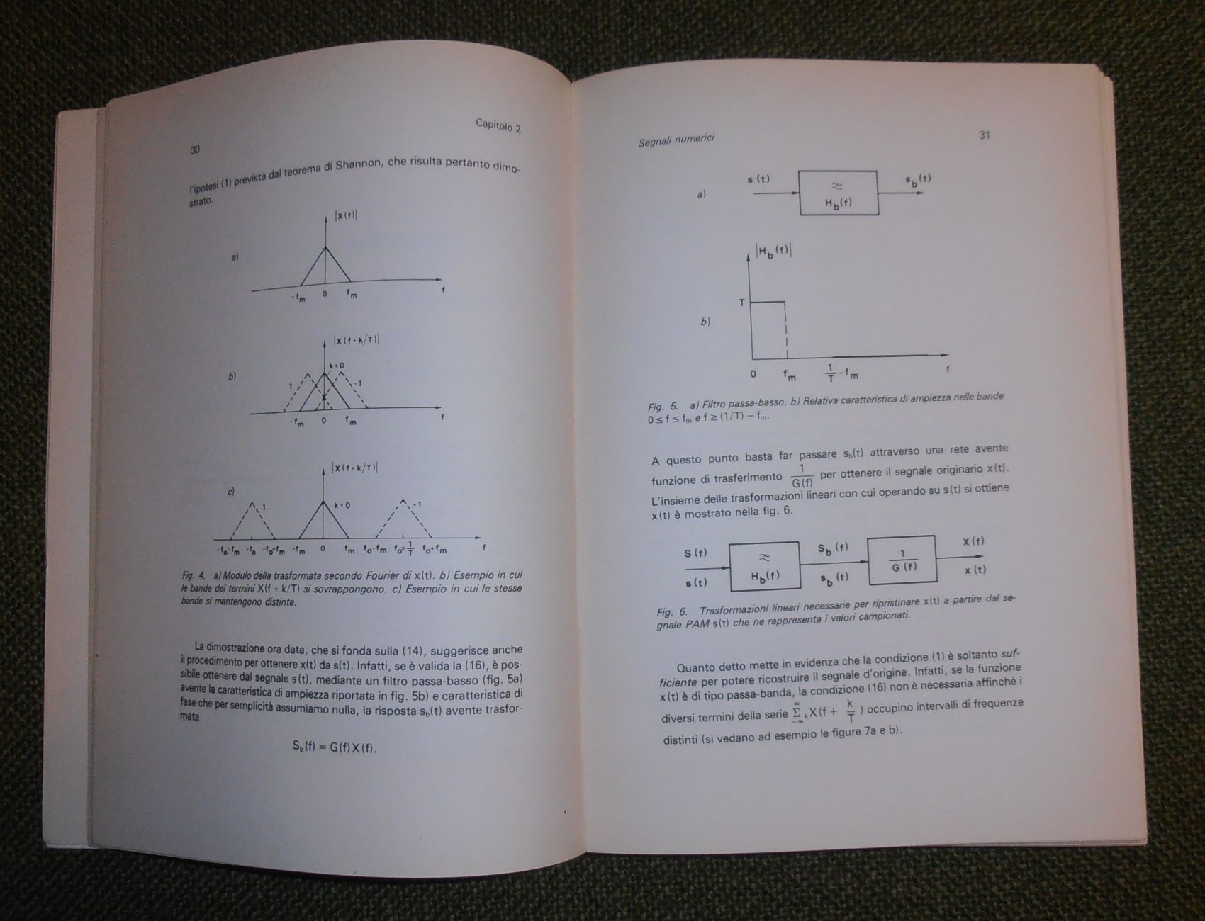 Sistemi di modulazione per trasmissioni numeriche