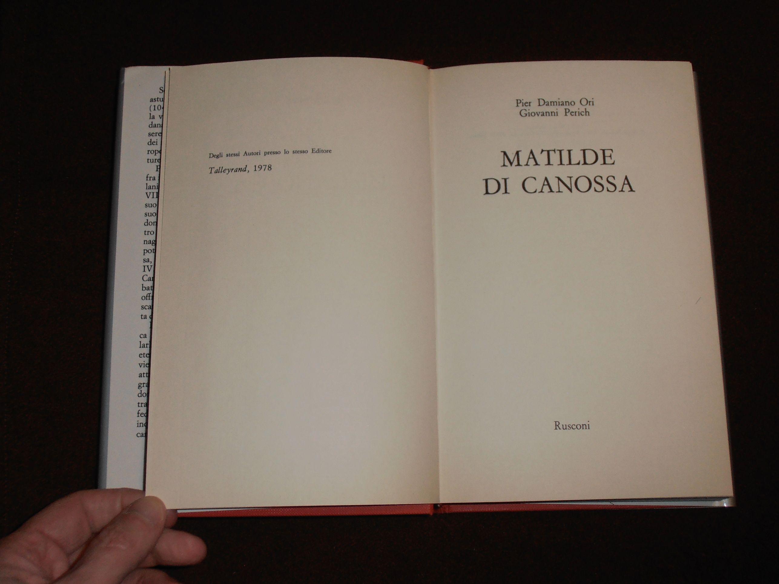 Matilde di Canossa. Con astuccio